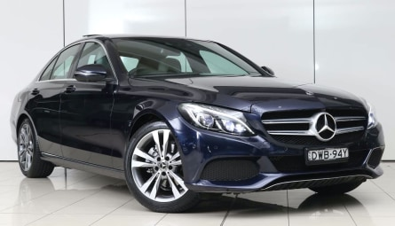 2018 Mercedes-Benz C-Class C200 Sedan