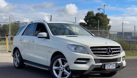 2012 Mercedes-Benz M-class ML250 BlueTEC Wagon