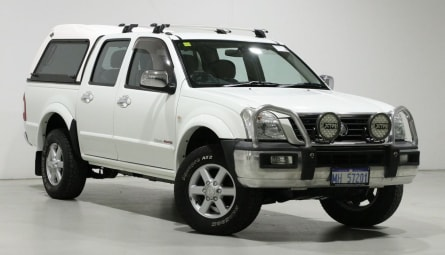 2005  Holden Rodeo Lx Utility Crew Cab