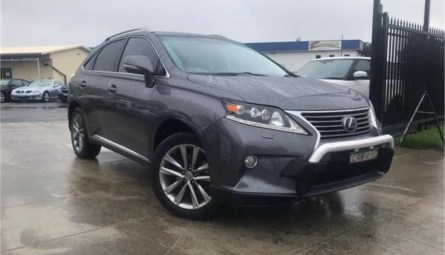 2013 Lexus RX RX450h Sports Luxury Wagon