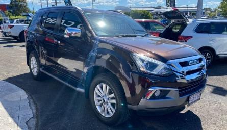 2017  Isuzu Ute MU-X Ls-t Wagon