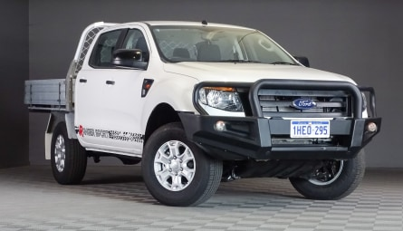 2015  Ford Ranger Xl Cab Chassis Double Cab
