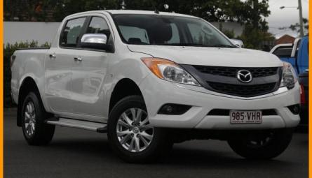 2014  Mazda BT-50 Gt Utility Dual Cab