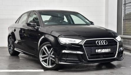 2019  Audi A3 40 Tfsi S Line Plus Sedan