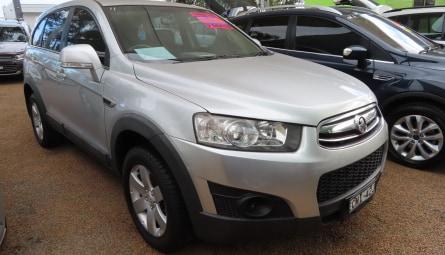 2011  Holden Captiva 7 Sx Wagon