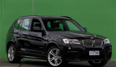 2012 BMW X3 xDrive30d Wagon