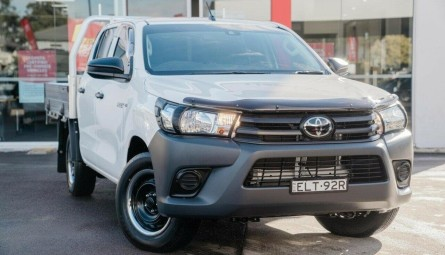2020  Toyota Hilux Workmate Utility Double Cab