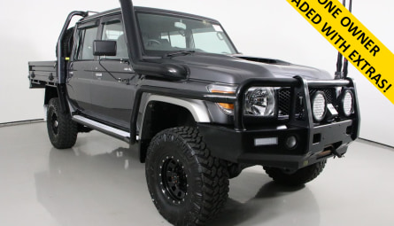 2019 Toyota Landcruiser GXL Cab Chassis Double Cab
