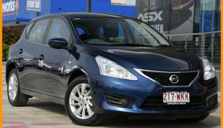 2013  Nissan Pulsar St Hatchback
