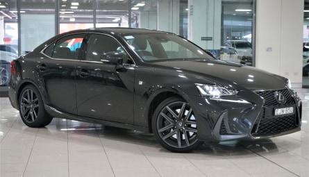 2020  Lexus IS Is300 Black Line Special Edition Sedan