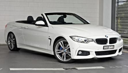 2014 BMW 4 Series 420d M Sport Convertible