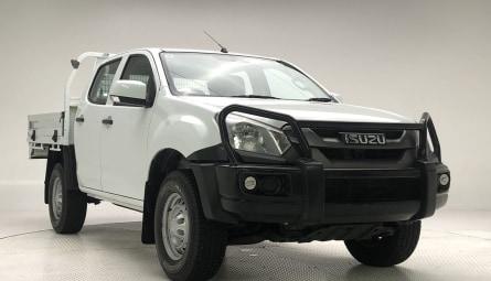 2018 Isuzu D-MAX SX Utility Crew Cab