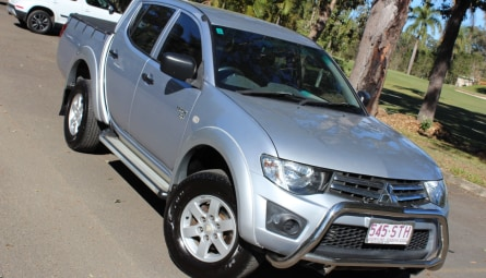 2012  Mitsubishi Triton Glx Utility Double Cab