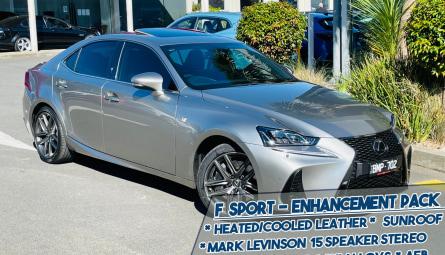 2019 Lexus Is IS300 F Sport Sedan