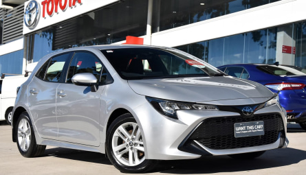 2019  Toyota Corolla Ascent Sport Hatchback