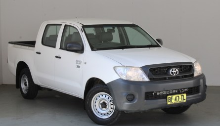 2010 Toyota Hilux Workmate Utility Dual Cab
