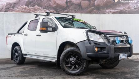 2014  Isuzu D-MAX Sx Utility Crew Cab