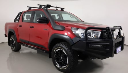2019  Toyota Hilux Rugged Utility Double Cab
