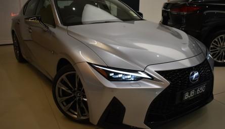 2020 Lexus IS IS300h F Sport Sedan