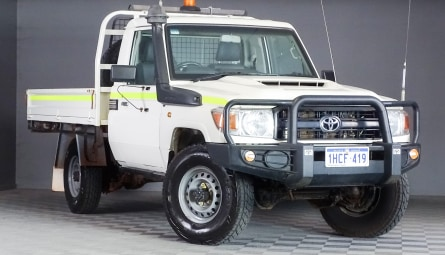 2017  Toyota Landcruiser Workmate Cab Chassis Single Cab