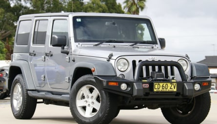 2015 Jeep Wrangler Unlimited Sport Softtop