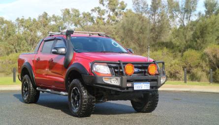 2014  Ford Ranger Wildtrak Utility Double Cab