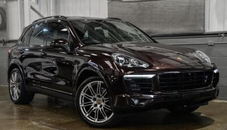 2017 Porsche Cayenne Diesel Platinum Edition Wagon