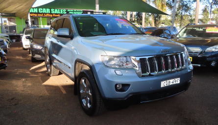 2012 Jeep Grand Cherokee Overland Wagon