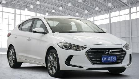 2017 Hyundai Elantra Elite Sedan