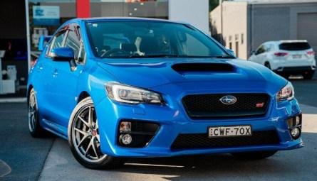 2014 Subaru WRX STI Premium Sedan