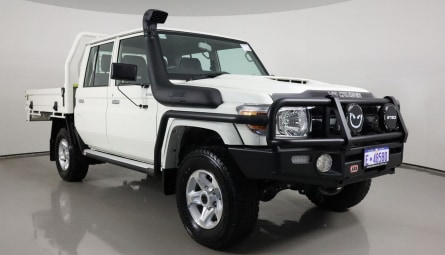 2020  Toyota Landcruiser 70 Series Gxl Cab Chassis Double Cab