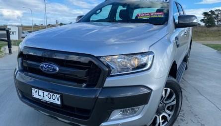 2016 Ford Ranger Wildtrak Utility Double Cab
