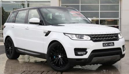 2016  Land Rover Range Rover Sport Tdv6 Se Wagon
