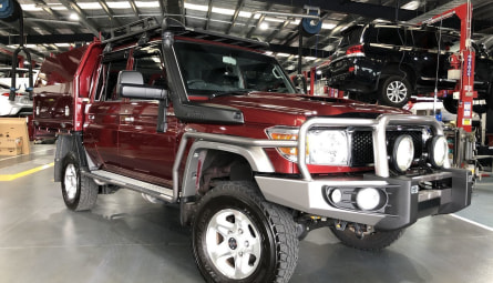 2018 Toyota Landcruiser GXL Cab Chassis Double Cab