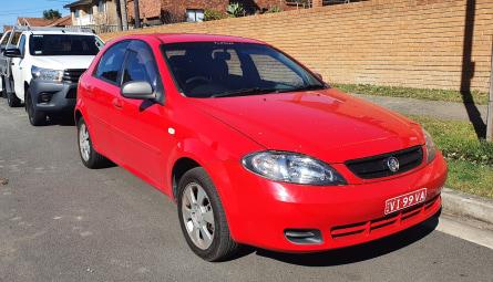 2008  Holden VivaHatchback