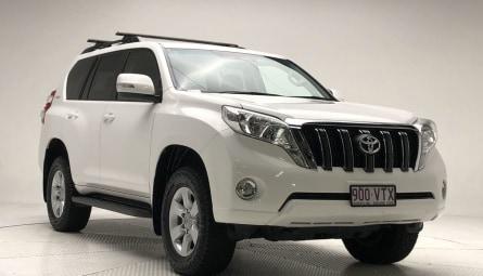2015  Toyota Landcruiser Prado Gxl Wagon