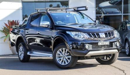 2018  Mitsubishi Triton Gls Utility Double Cab