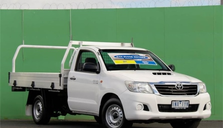 2014  Toyota Hilux Sr Cab Chassis Single Cab