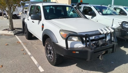 2011  Ford Ranger Xl Utility Crew Cab