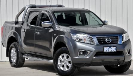 2018 Nissan Navara ST Utility Dual Cab