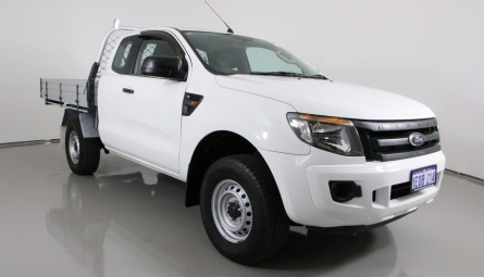 2014 Ford Ranger XL Hi-Rider Cab Chassis Super Cab