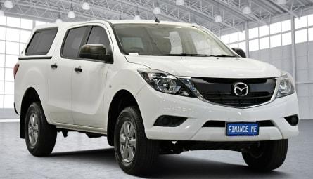2017 Mazda BT-50 XT Hi-Rider Utility Dual Cab