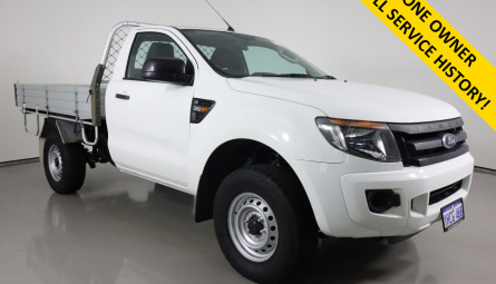 2013  Ford Ranger Xl Cab Chassis Single Cab