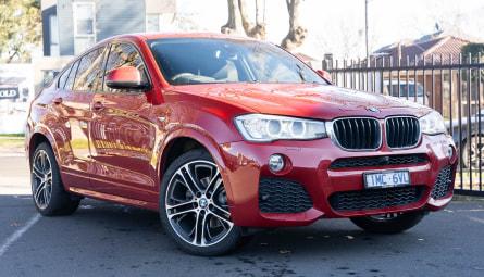 2018  BMW X4 Xdrive20d Coupe