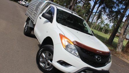 2012 Mazda BT-50 XT Cab Chassis Single Cab