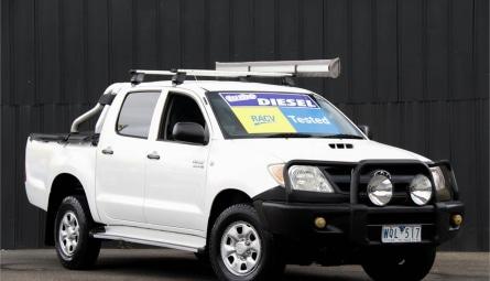 2008  Toyota Hilux Sr Utility Dual Cab