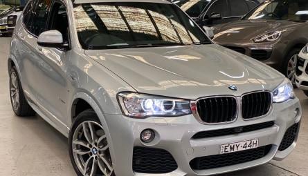 2016  BMW X3 Xdrive20d Wagon