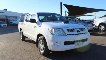 2009 Toyota Hilux SR Utility Dual Cab