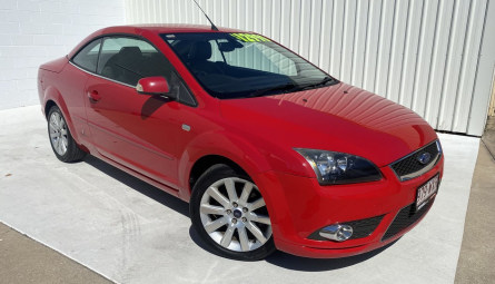 2007  Ford Focus Coupe Cabriolet Convertible