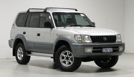 2001  Toyota Landcruiser Prado Gxl Wagon